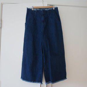 Denim wide culottes - LIKE NEW